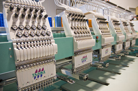 tajima 6 embroidery machine